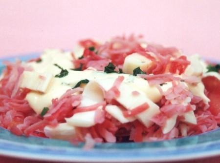 Salada de Kani