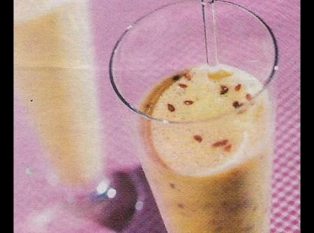 Shake de leite de soja