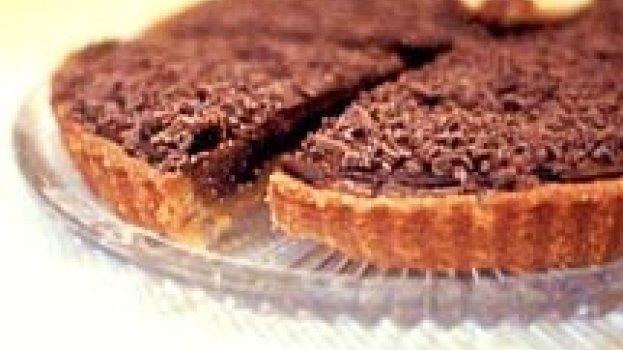 Torta Brownie de Avelãs
