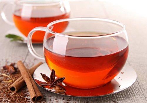 Chá de frutas ricas em vitamina C