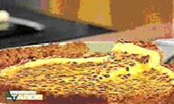 Cheese Cake com Calda de Maracujá