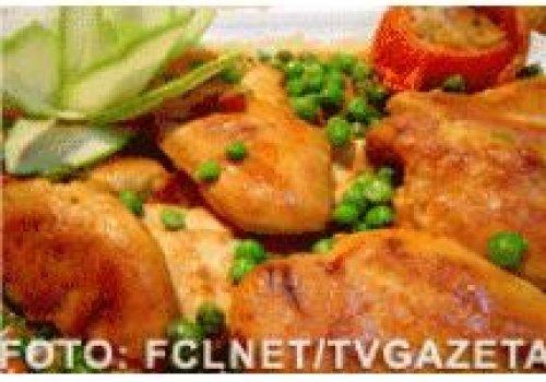 Filé de frango com páprica doce