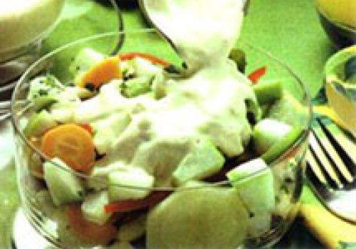 Salada de Legumes e Maçãs