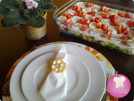 Salada em Camadas | Ana Claudia Vasques