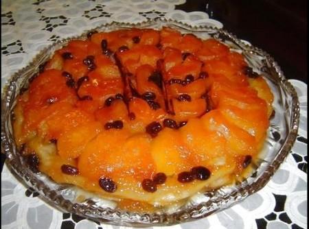 sobremesa de maça