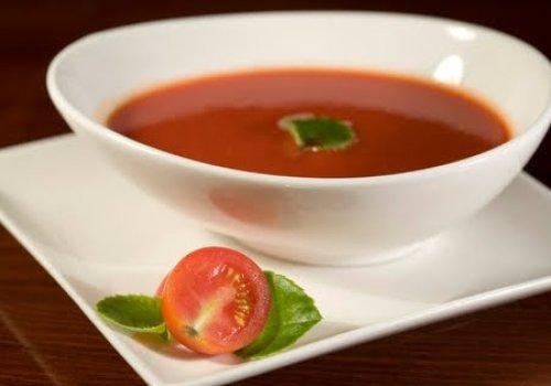 Sopa de Tomate e Queijo Minas Frescal