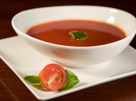 Sopa de Tomate e Queijo Minas Frescal   Maria Aparecida Campos de Souza
