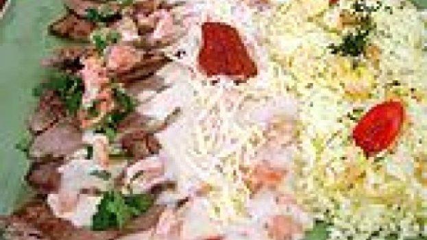 Filé ao molho cremoso e arroz suave