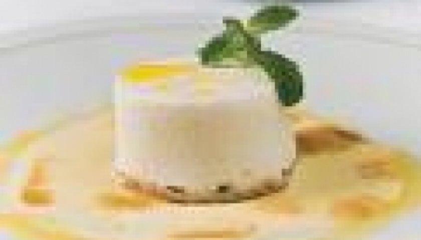 gelado light de pêssego