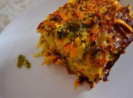 Kugel de legumes (vegetariana)