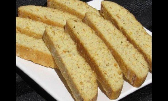 Biscotti de Damasco (Biscoito Italiano)