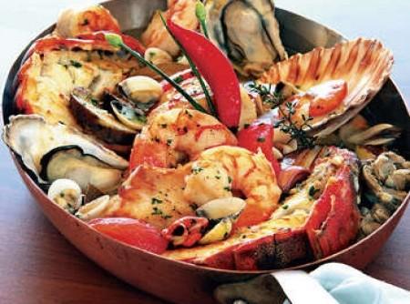 Caldeirada de peixe e frutos do mar | Glauberto