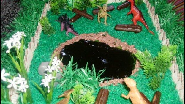 Bolo parque dos dinossauros