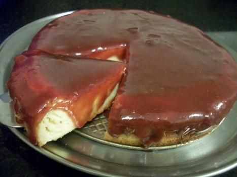 Cheesecake Romeu e Julieta | Gilda Ferreira Machado