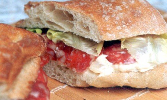 Sanduíche Picante