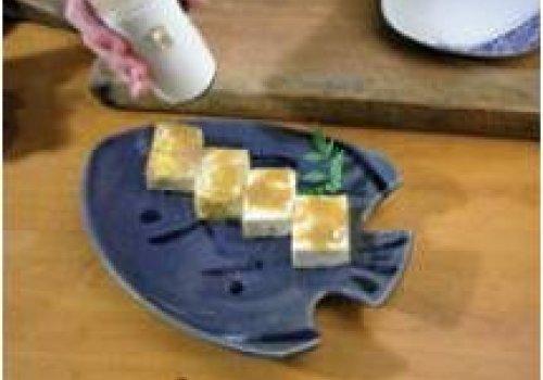 Tofu grelhado (yakidofu) com missô