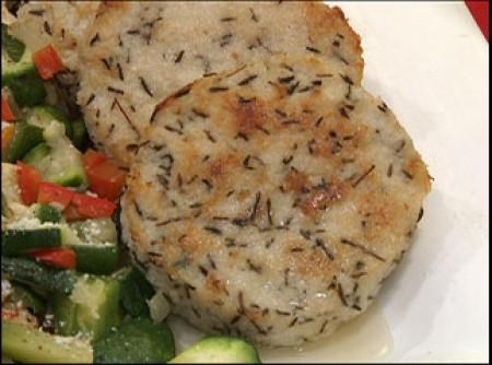Hambúrguer de Peixe Assado