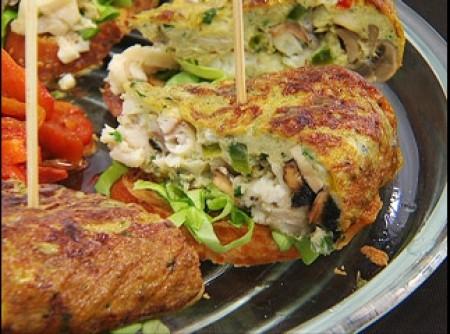Omelete de peixe