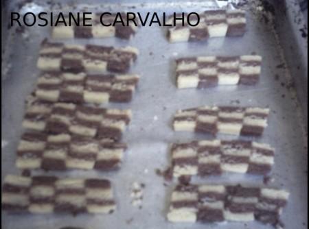 Biscoitos xadrez