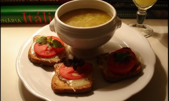 Creme Francês de Batata e Alho-poró
