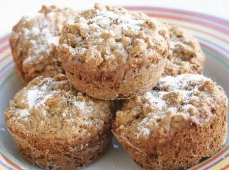 Muffin Integral de Banana | CyberCook
