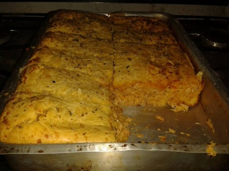 Torta de Frango com Sardinha