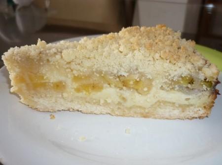 Pie da Preguiçosa Nestlé (Torta de banana)