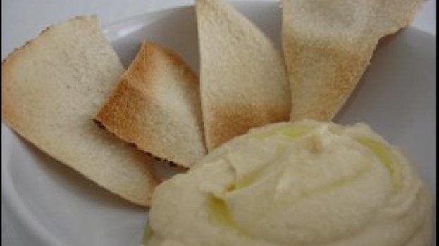 Homus — Patê de grão-de-bico (vegan) Árabe