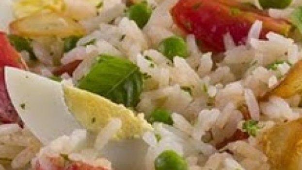 Salada de Arroz aromatizada