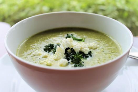 Creme de Brócolis com Gorgonzola