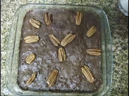 Brownie de Chocolate no Microondas