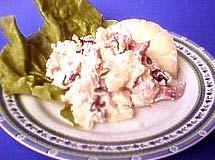 Salada de Frango Defumado com Nozes