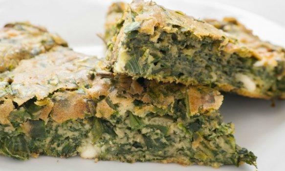 Tarte Zeljanica (torta de espinafre)