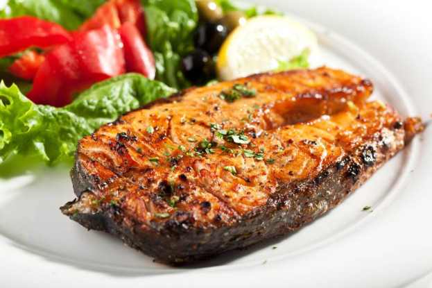 O incomum churrasco de peixe