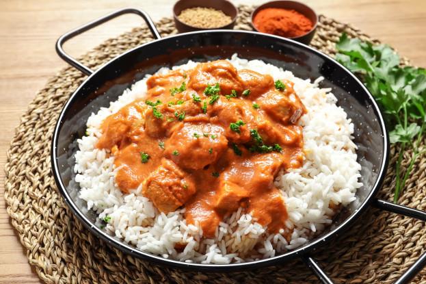 Arroz com frango e curry/CyberCook