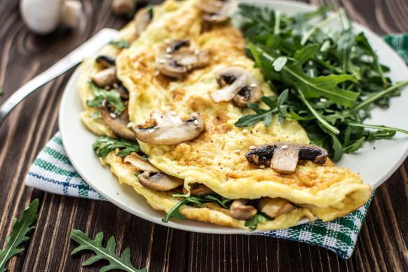 omelete shitake shimeji/cybercook