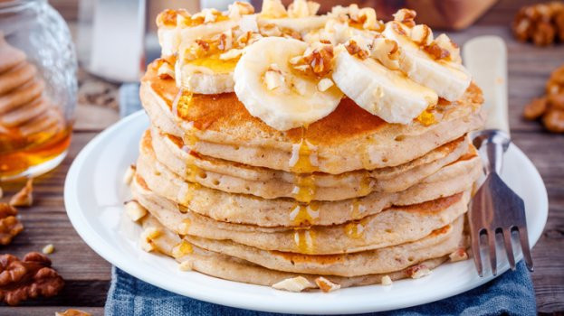Panqueca de banana para uma experiência deliciosa no café da manhã