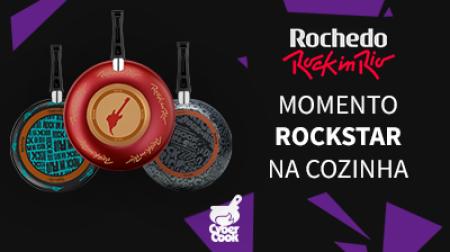 Momento Rock Star na Cozinha