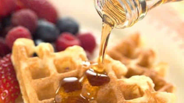 Um café da manhã diferenciado com Waffle