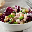 Salada de Atum com Grão de Bico