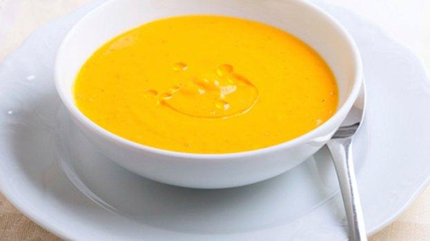Sopa Fria de Abóbora Macrobiótica