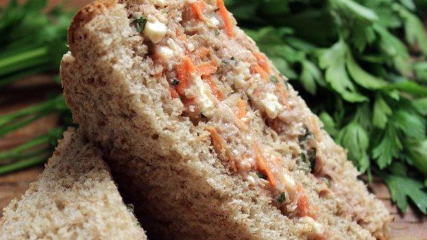 Sanduíche Natural de Sardinha