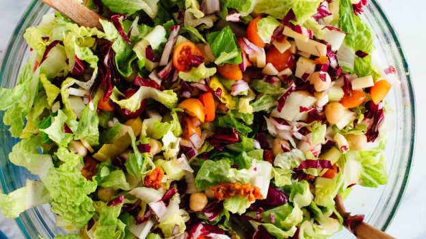 Salada Proteica Vegana