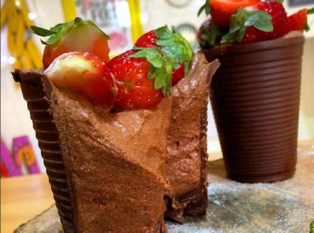 Copinho de Chocolate com Mousse
