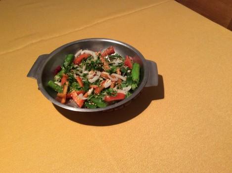 Salada de Quiabo | eliane cecconi