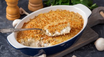 Travessa de Atum com Crosta Crocante