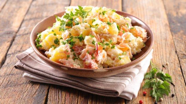 Salada de Batata com Presunto