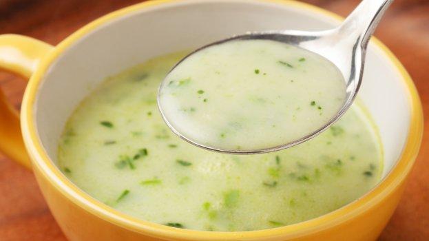 Sopa de Talo de Espinafre