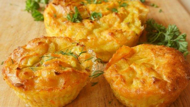 Muffin Salgado Sem Glúten