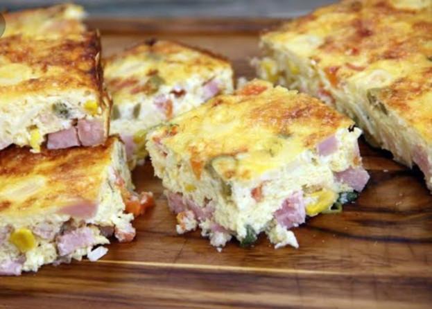 omelete de forno/cybercook